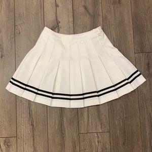 School girl high waisted pleated skirt